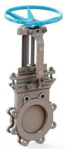 FNW® Figure 6800 24 in. 316L Stainless Steel Flanged Knife Gate Valve FNW6800B24