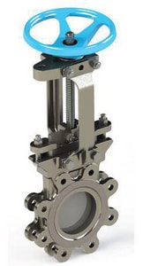 FNW Figure 6500 8 in. 316L Stainless Steel Flanged Knife Gate Valve FNW6500SX