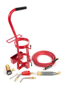 Victor Turbo Torch Acetylene Deluxe Tote Starter Kit (Less Tank) TDLX2003