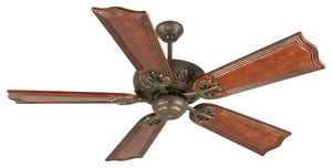 Craftmade International Cordova 79W 5-Blade Ceiling Fan with 52 in. Blade Span in Aged Bronze Textured CK10907