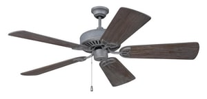Craftmade International CXL 69W 52 in. 5-Blade Indoor Ceiling Fan in Aged Galvanized (Less Blades) CCXL52AGV