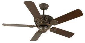 Craftmade International Chaparral 5-Blade Ceiling Fan Motor in Aged Bronze Textured CCP52AG