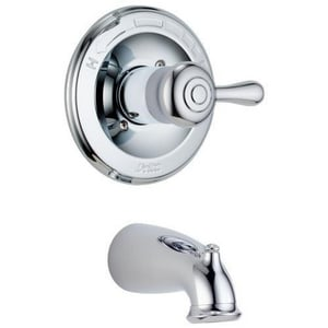 Delta Faucet Leland® 2.5 gpm Tub Trim in Polished Chrome (Less Handle) (Trim Only) DT14178LHP