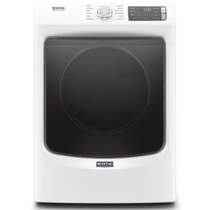 Maytag 27 in. 120V 7.4 cf 12-cycle Gas Front Load Dryer in White MMGD6630HW