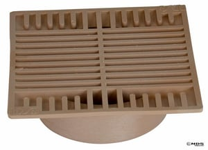 NDS Spee-D® 7-3/4 x 7-43/50 x 4-3/4 in. Square Grate N883S