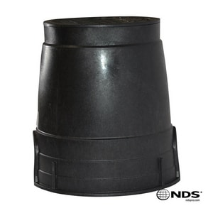 NDS 6 in. Round Irrigation Valve Box with Lid ND109B