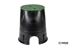 NDS 7 in. Round Valve Box with Cover N107BCS