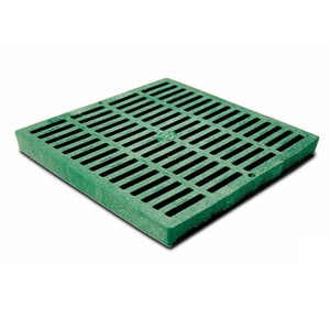 NDS 12 x 12 in. Grate For Catch Basin in Green N1212