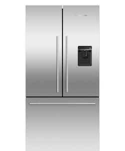 Fisher & Paykel ActiveSmart® 31-3/32 in. 16.9 cf Freestanding Counter Depth French Door Refrigerator with Ice & Water in Stainless Steel FRF170ADUSX4N