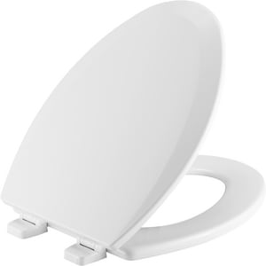 Peachy Bemis Top Tite Elongated Closed Front Toilet Seat With Bralicious Painted Fabric Chair Ideas Braliciousco