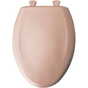Bemis Whisper-Close® Elongated Closed Front With Cover in Petal Pink B1200SLOWT043