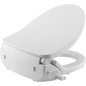 Bemis Renew Round Closed Front With Cover Bidet Seat In White B980nl 000 Ferguson