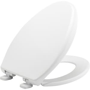 Strange Bemis Elongated Closed Front Toilet Seat With Cover In White Ibusinesslaw Wood Chair Design Ideas Ibusinesslaworg