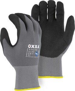 Majestic Glove Oxxa® L Size Spandex, Plastic, Foam and Rubber Palm Gloves M51290