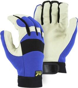 Majestic Glove Pig Skin Palm & Neoprene Mechanical Glove M2152T01