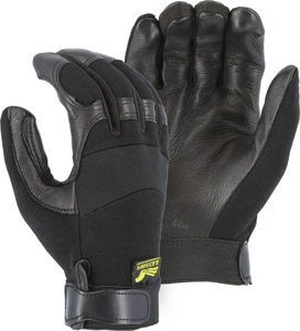 Majestic Glove XXL Size Deer Skin Mechanical Glove in Black M2151XXLT01