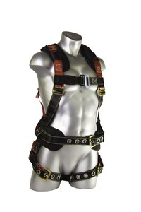 Guardian Fall Protection Seraph Construction XL - XXL Seraph Construction with Pass Through Chest, Legs and Waist GUA1117