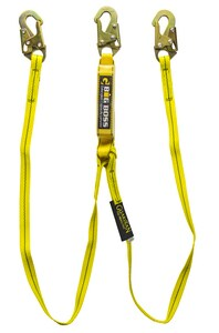 GF Protection Big Boss 6 ft. Extended Free Fall Lanyard with Hook 12 Shock G21302