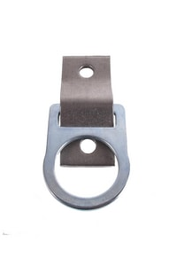 GF Protection 4-1/4 x 2 in. Stainless Steel D-ring 2-Hole Anchor Plate G00360