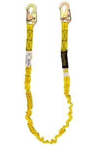 Guardian Fall Protection 6 ft. Adjustable Single Leg Lanyard G11200