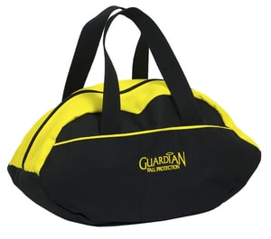 GF Protection Polyester Duffle Bag in Black and Yellow GUA00781
