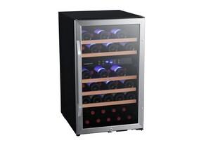 Edgestar 23 in. 1.5A 38 Bottles Wine Cooler in Black Stainless ECWF380DZ
