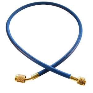 JB Industries 1/4 x 60 in. Hose with Fitting in Blue JCLS60B