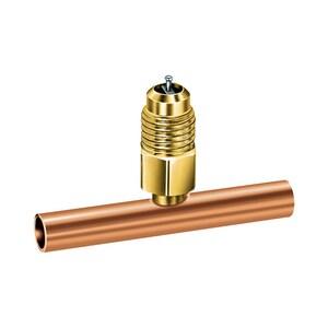 JB Industries 3/8 x 1/2 in. Copper Valve Tee JA31136