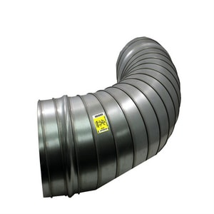 Elgen Manufacturing 26 ga Spiral Elbow EESP9015