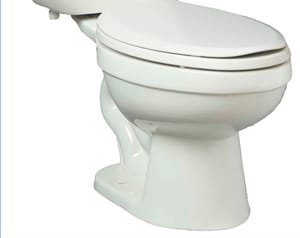 PROFLO® Jerritt Series 1.6 gpf Elongated Floor Mount Toilet Bowl in White PF1401T