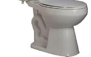 PROFLO® PF1500 Series 1.28 gpf Round Floor Mount Toilet Bowl in White PF1500WH