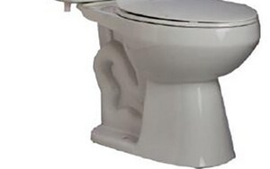 PROFLO® PF1500 Series 1.28 gpf Elongated Toilet Bowl in White PF1501WH