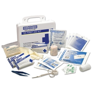 ERB Safety Plastic First Aid Kit in White E17132