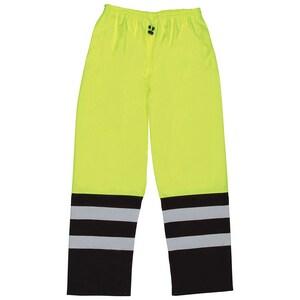 ERB Safety 2XL Size Rainpant in Lime E62110