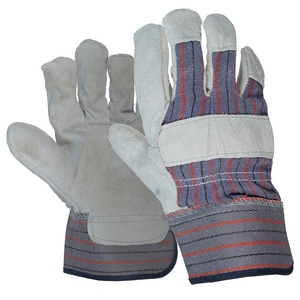 West Chester One Size Premium Leather Palm Work Gloves E14416