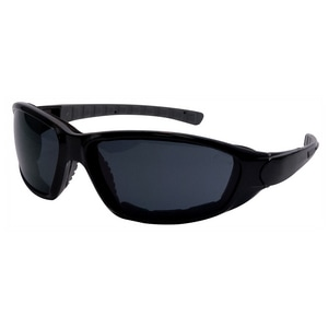 ERB Safety Ammo™ Anti-Fog Safety Glasses with Black Frame & Smoke Lens E15411
