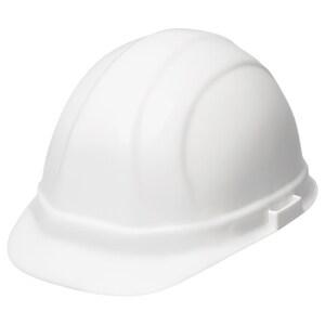 ERB Safety Omega® II Cap Safety Helmet with Mega Ratchet in White E19951