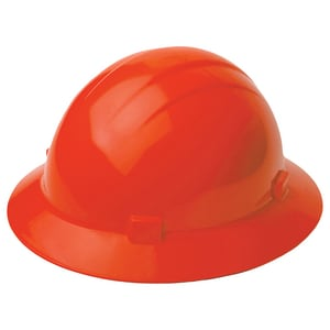 ERB Safety Americana Hard Hat with 4-Point Ratchet Suspension in Orange E19225