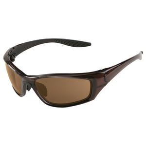 ERB Safety 8200 Polarized Brown Smoke Lens Safety Glasses E17913