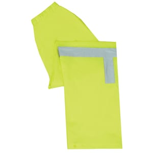 ERB Safety M Size Lightweight Rainpant in Lime E61510
