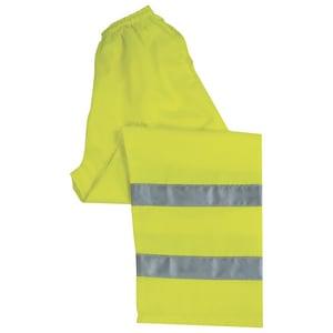 ERB Safety 4XL Size Work Pant in Hi-Viz Lime E14574