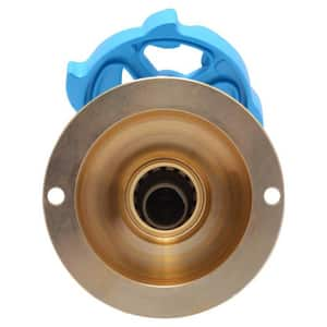 1/2 in x 3/4 in. Brass Push-to-Connect x MHT Hose Bibb S24626LF
