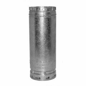 American Metal Products AmeriVent® 18 x 6 in. Aluminum and Galvanized Steel Gas Vent Pipe A6E18