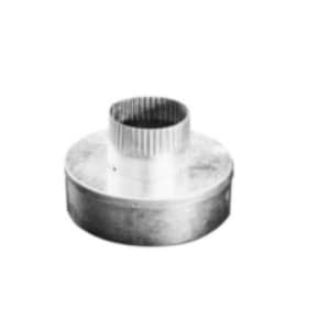American Metal Products 5 in. x 3 in. Aluminum Single Wall Bell Type Reducer A53BTR