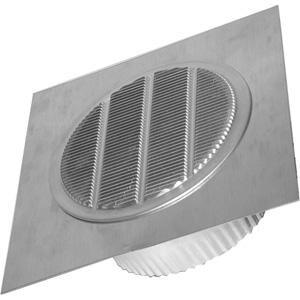 Deflecto Vent Kit Aluminum 4 in. DEARL4TF