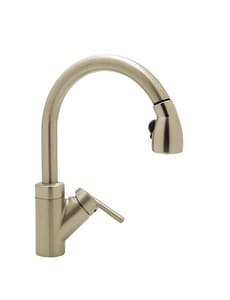 Blanco America Rados™ 1-Hole Kitchen Faucet with Single Lever Handle in Satin Nickel B440616