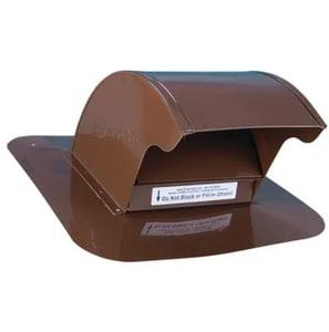 In-o-vate Technologies DryerJack™ 12 x 5 in. Roof Vent Galvalume in Brown IDJK466B