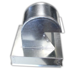 In-o-vate Technologies DryerJack™ 12 x 9 in. Roof Vent Galvalume and Galvanized Steel IDJK486U