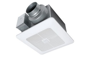 Panasonic WhisperSense® DC™ 110 CFM Bathroom Exhaust Fan in White PANFV0511VQC1