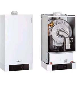 Viessmann Vitodens 200-W® Residential Gas Boiler 199 MBH Electric and Gas VB2HB070
